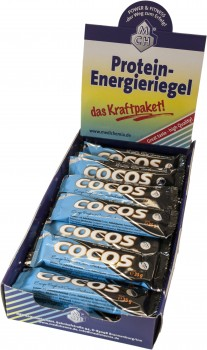 Cocos Energie - Riegel Display
